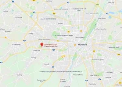 Die Tiertherapie-Praxis Vitalitier liegt im Südwesten von München, zwischen Pasing und Gräfelfing.